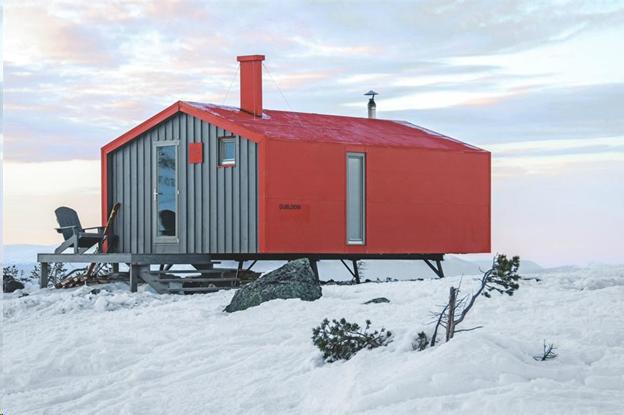 Жилище в стиле «off-the-grid» адаптировано под суровый север