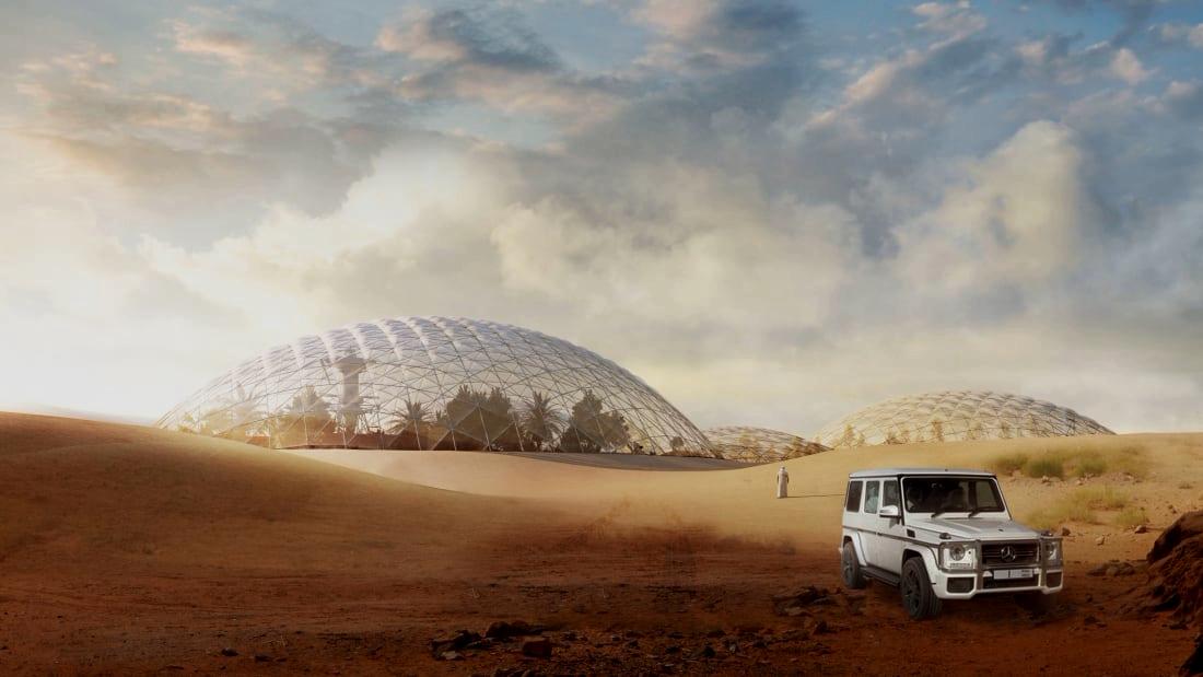 Укрепляется фарватер на Марс: марсианский город на планете Земля обретает реальность