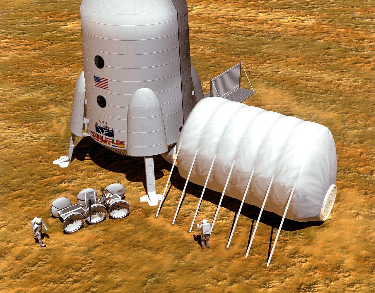 Колонизация Марса больше похожа на рекламную кампанию американских ракет и технологий