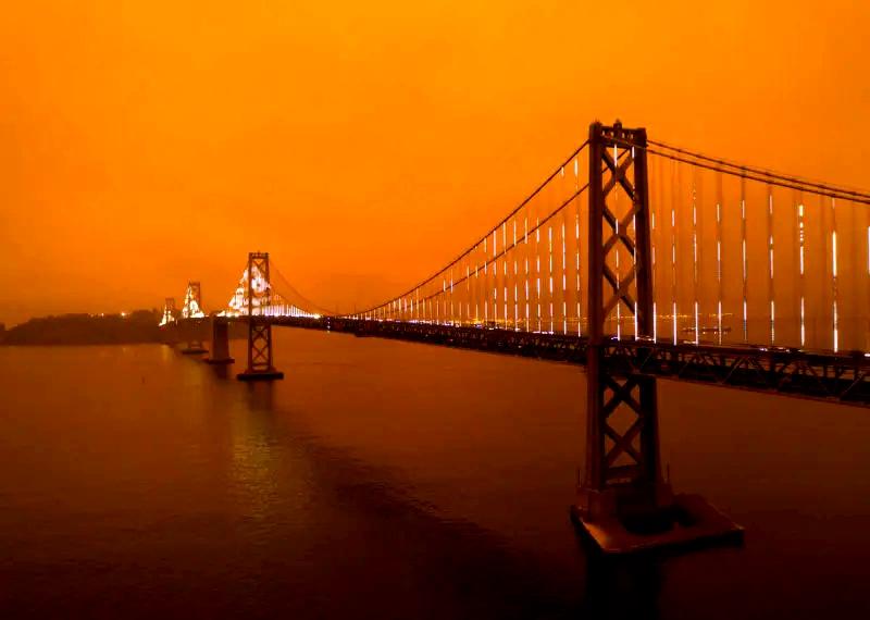 Побег из огненной Калифорнии вглубь США или новая климатическая реальность