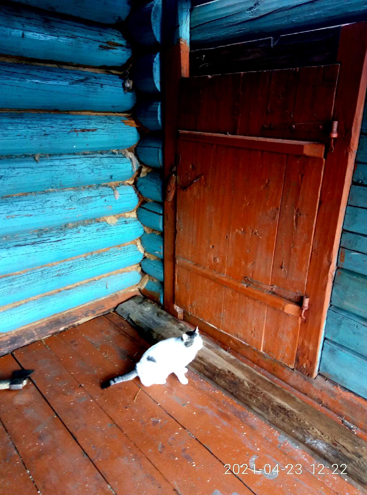 Старинная русская изба изнутри
