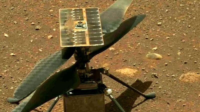 Полный разбор полёта  марсианского вертолёта