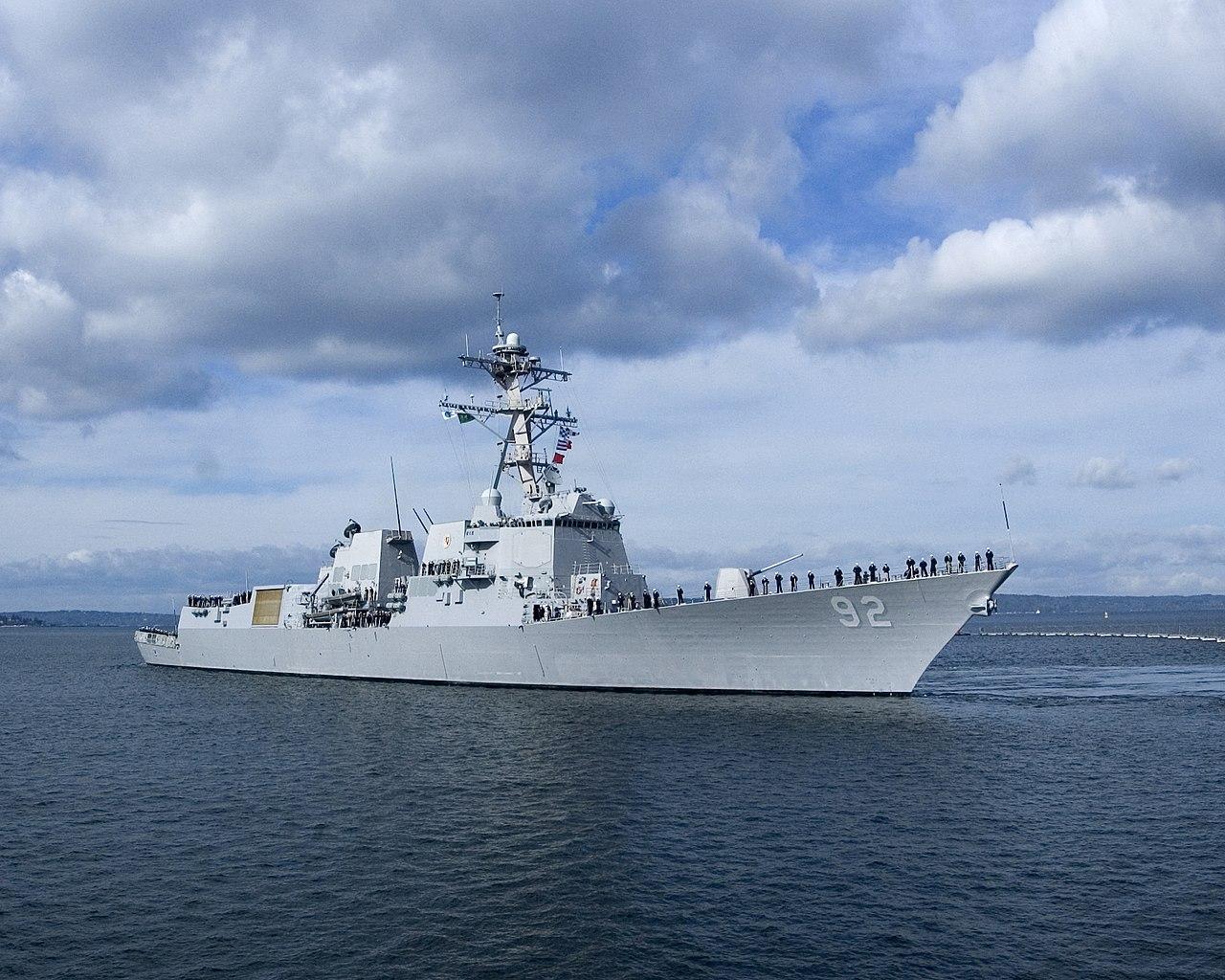 США явно провоцируют Китай на ответные  действия из-за прохода военного корабля в Тайванском проливе